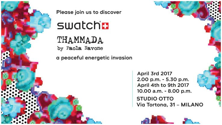 Swatch Art Special by Paola Navone